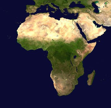 africa-continent-aerial-view-geography-41163